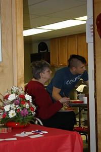 Celebration after Church Service 2-14-2010