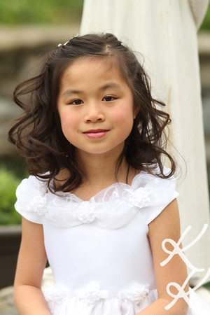 First Communion Portraits, 4-17-12