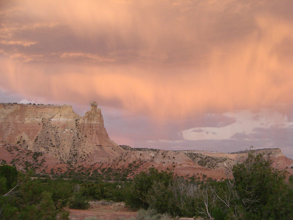 Ghost Ranch Heart Labyrinth, Sunset 2012-07