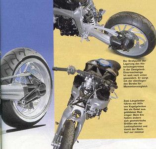 Golem motorcycle shocks - patineto