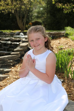 Halle Kinross, First Communion