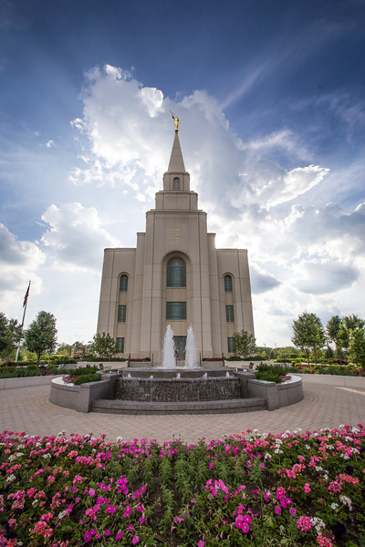 House Of The Lord, LDS Kansas City, MO Temple