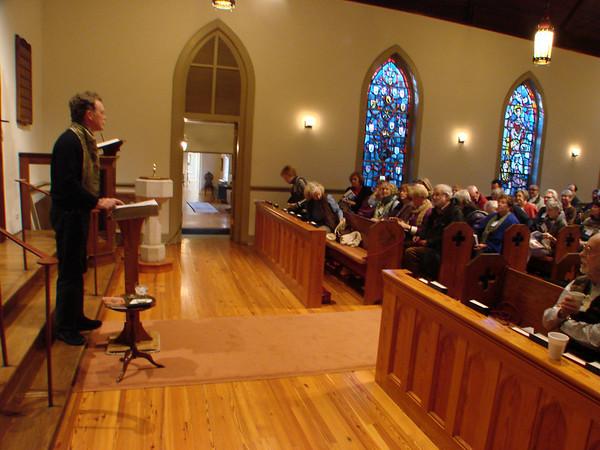 John Philip Newell, Charlottesville and Richmond, VA 2012-12
