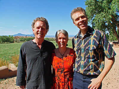 John Philip and Ali Newell, David E. Poole, Companion Musician, Music Director, La Mesa Presbyterian Church, Albuquerque, New Mexico, photo by Larry Hastings http://www.ghostranch.org/