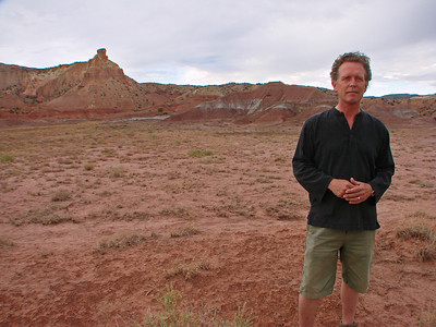 John Philip Newell, Chimney Rock, Ghost Ranch, Abiquiu, New Mexico, photo by Larry Hastings http://www.ghostranch.org/