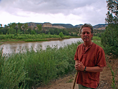 John Philip Newell, Chama River Canyon Wilderness, Rio Arriba County, New Mexico, photo by Larry Hastings http://www.ghostranch.org/