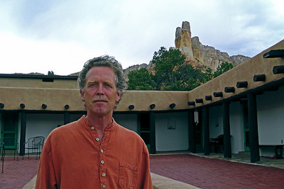 John Philip Newell, Casa del Sol, Ghost Ranch, Abiquiu, New Mexico, Photo by Larry Hastings http://www.ghostranch.org/