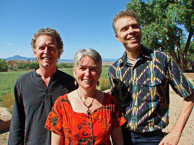 John Philip and Ali Newell, David E. Poole, Companion of Casa del Sol Musician, Music Director, La Mesa Presbyterian Church, Albuquerque, New Mexico, photo  by Larry Hastings http://www.ghostranch.org/