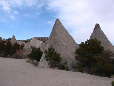 Kasha-Katuwe Tent Rocks National Monument, Cochiti Pueblo, New Mexico 2011 March  http://www.blm.gov/nm/st/en/prog/recreation/rio_puerco/kasha_katuwe_tent_rocks.html   http://www.americansouthwest.net/new_mexico/kasha-katuwe-tent-rocks/national-monument.html