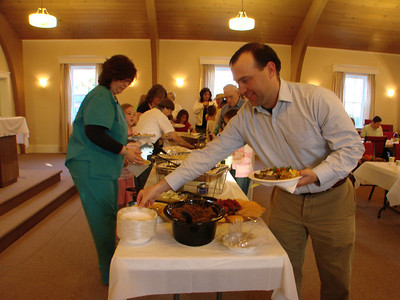 Maundy Thursday Passover Seder, Life of Christ, 2010, April 1