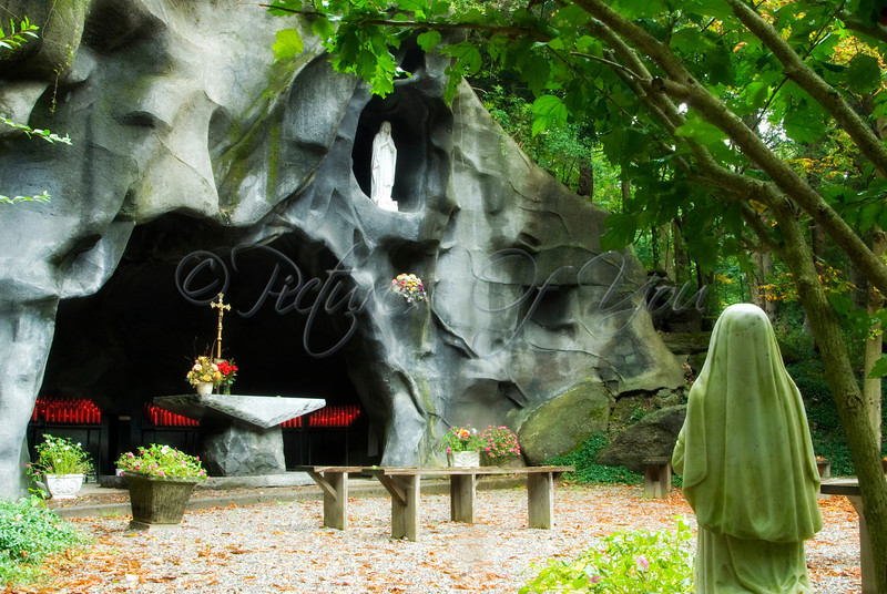 The Grotto at The National Shrine of Divine Mercy