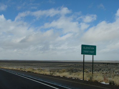 7,000 ft. elevation in northwest New Mexico, and much drier air - anticipate a few nose bleeds!