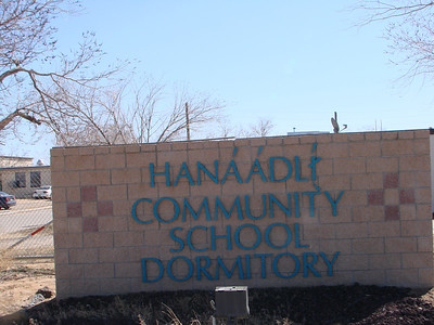 Since 2010, Navajo Mission Trips have stayed in Hanaa'dli Community School/Dormitory, County Road 7150 #700 P.O. Box 639  Bloomfield, New Mexico 87413  (505) 960-3411/7632