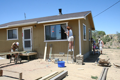 And will also painted their house