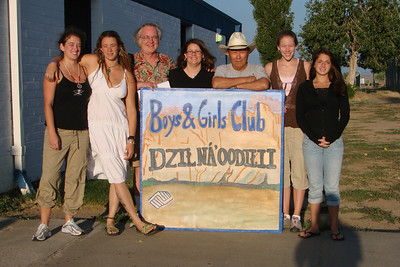 """For many years, the Navajo Mission Trip stayed in the dorm at  Dzilth-Na-O-Dith-Hle Community Grant School, AKA """"DZ"""""""