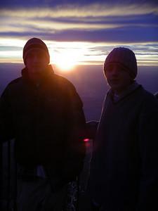 Alex & Kenneth, Sandia Peak sunset