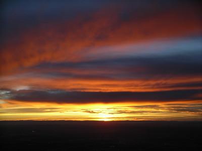 Sandia Peak sunset