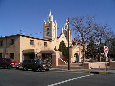 Albuquerque Church of San Felipe de Neri