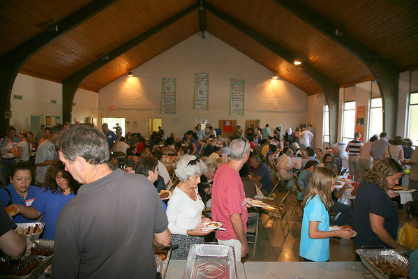 Our Lady Queen of Peace Church Picnic  Sept 9, 2012