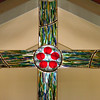 Palm Sunday Stained Glass Cross Dedication 2012-04-01 :