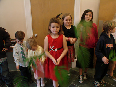 Palm Sunday Parade, led by Park Street Christian Church Children