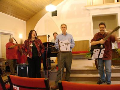 Park Street Christian Church Praise Band, T.C. Howard, Cheryl West-Knight, Paul Johnson (keyboard), Roy Whitlock, Deloy Moore