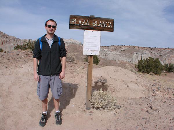 Plaza Blanca Hike, Abiquiu, New Mexico 2012-11