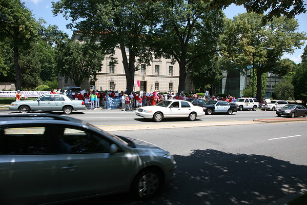 Rally At The Vatican Embassy For The Sisters