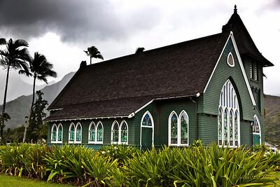 Wai'oli Hui'ia Church - Hanalei, Kaua'i - 11/06/11