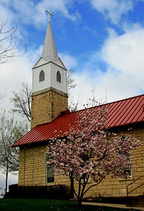 Salem Luthern Church, Spragueville, IA