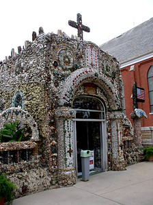 Front of the Grotto.