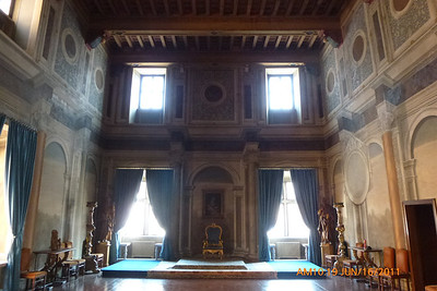 Reception Room for the Grand Pryor of the Equestrian Order of the Holy Sepulchre.