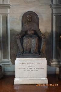 Pope St. Pius X at EOHSJ