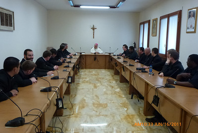 Meeting with Archbishop DiNoia