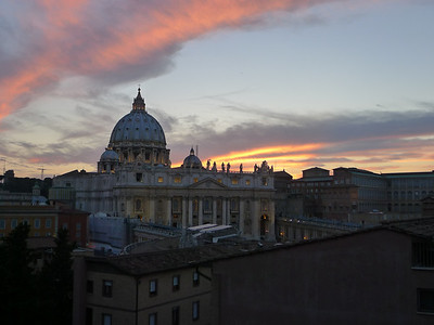 Sunset at St. Peter's