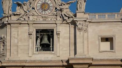Bells ringing morning of Pentecost.
