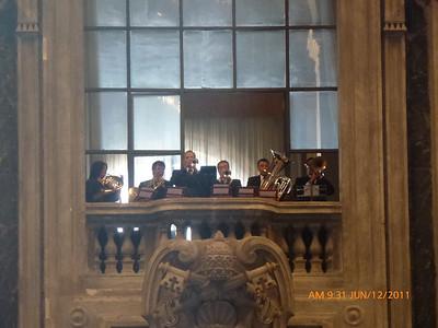 Brass Choir for Mass of Pentecost