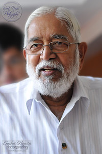"""""""Our Beloved Master"""". Rev. Master at Babuji Memorial Ashram, Panvel, Mumbai. Aug, 2010."""