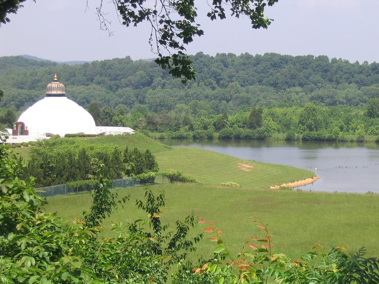 LOTUS and lake, May 2006.