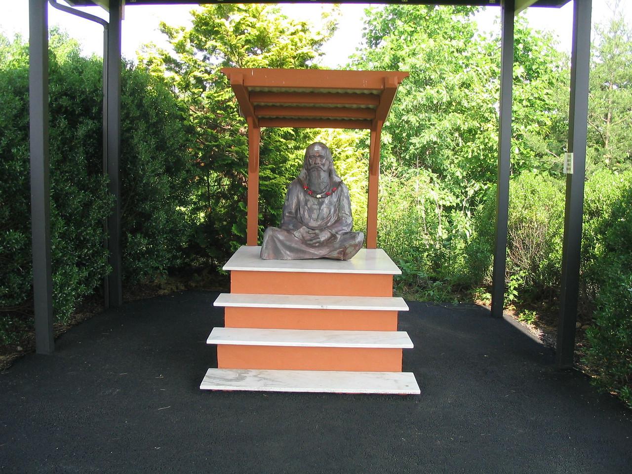 The Reverend Sri Swami Satchidananda shrine.  Yogaville, Buckingham, VA.  May 2006.