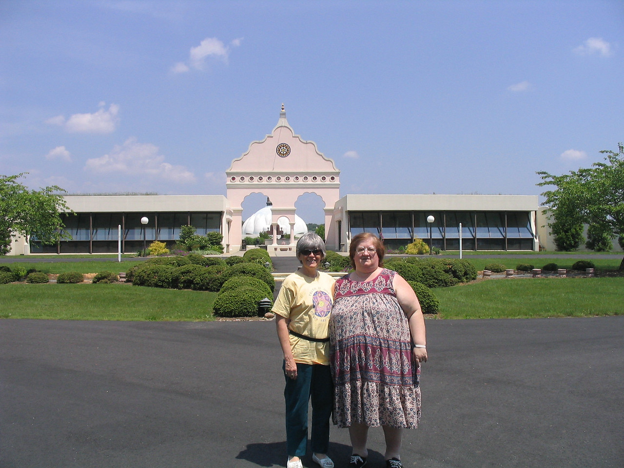 Bonnie and Debbie in front of the LOTUS....May 2006.