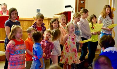Palm Sunday 2018/sunday school choir