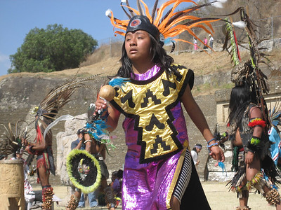 Solstice Ceremony to the Aztec Gods - Cholula Dec 2006