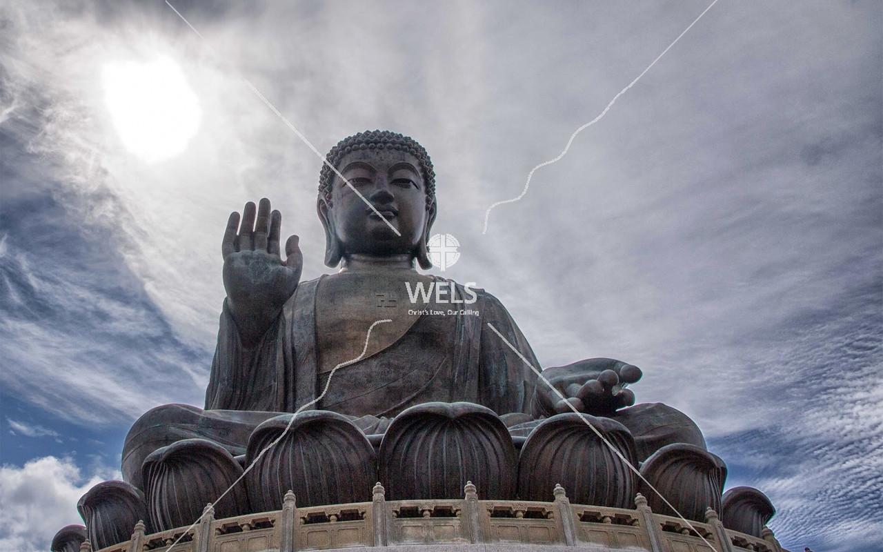 Big Buddha on Lantau Island in Hong Kong by mspriggs