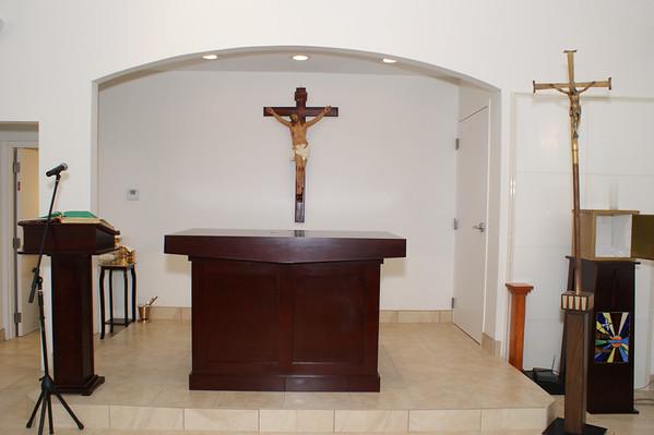 St. Monica Chapel Dedication