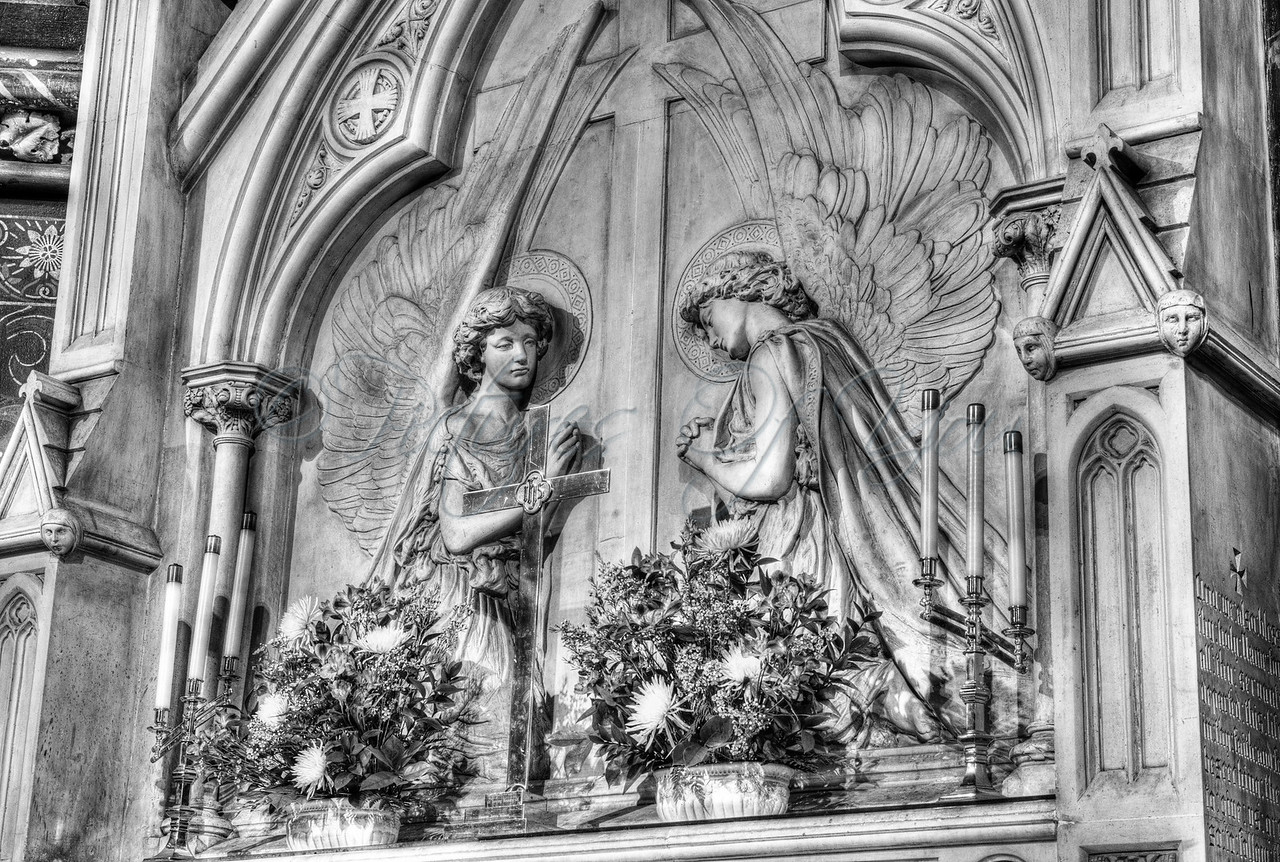 St Peter's 024 BW