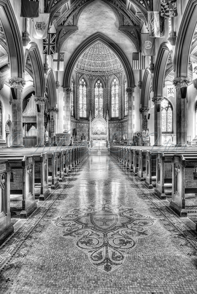St Peter's 001 BW