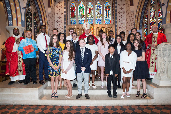 St Thomas Confirmations with Fthr John