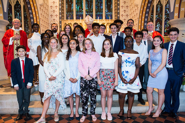 St Thomas of Canterbury Confirmation 2017