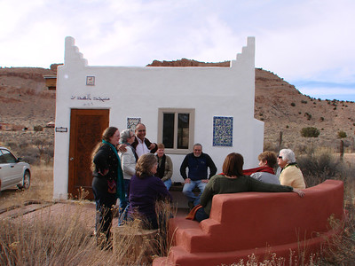 We were also welcomed with gracious hospitality at a small mosque in Abiquiu, New Mexico. http://stillpointca.org/ghostranch.html http://www.ghostranch.org/courses-and-retreats/stillpoint